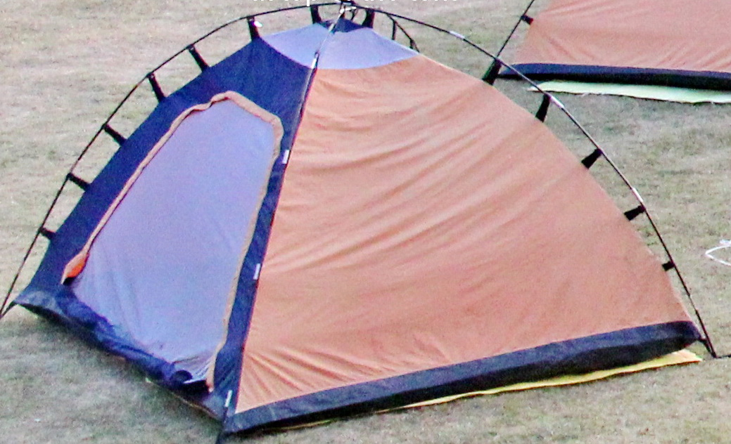 Dome Tent top View